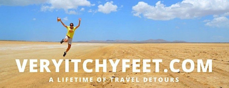 Very Itchy Feet Takes a Travel Detour