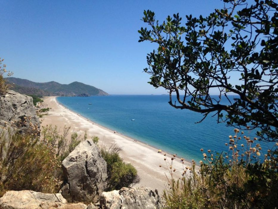 Olympos Beach Turkey