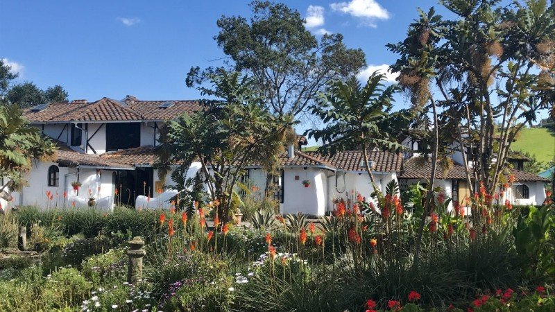 Getting away from Quito at Hacienda Sierra Alisos