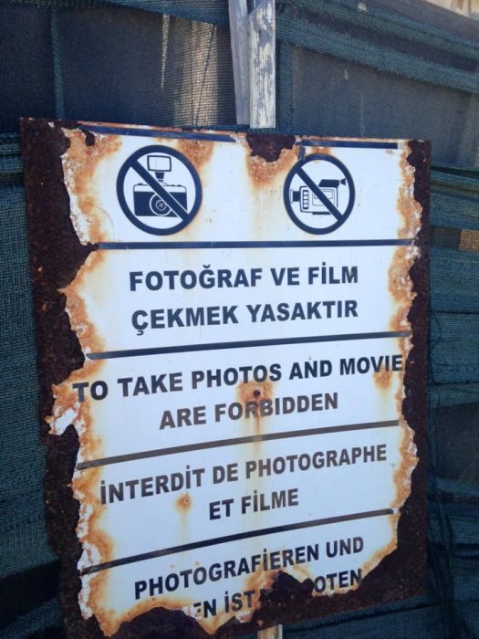 No photography No movies Cyprus
