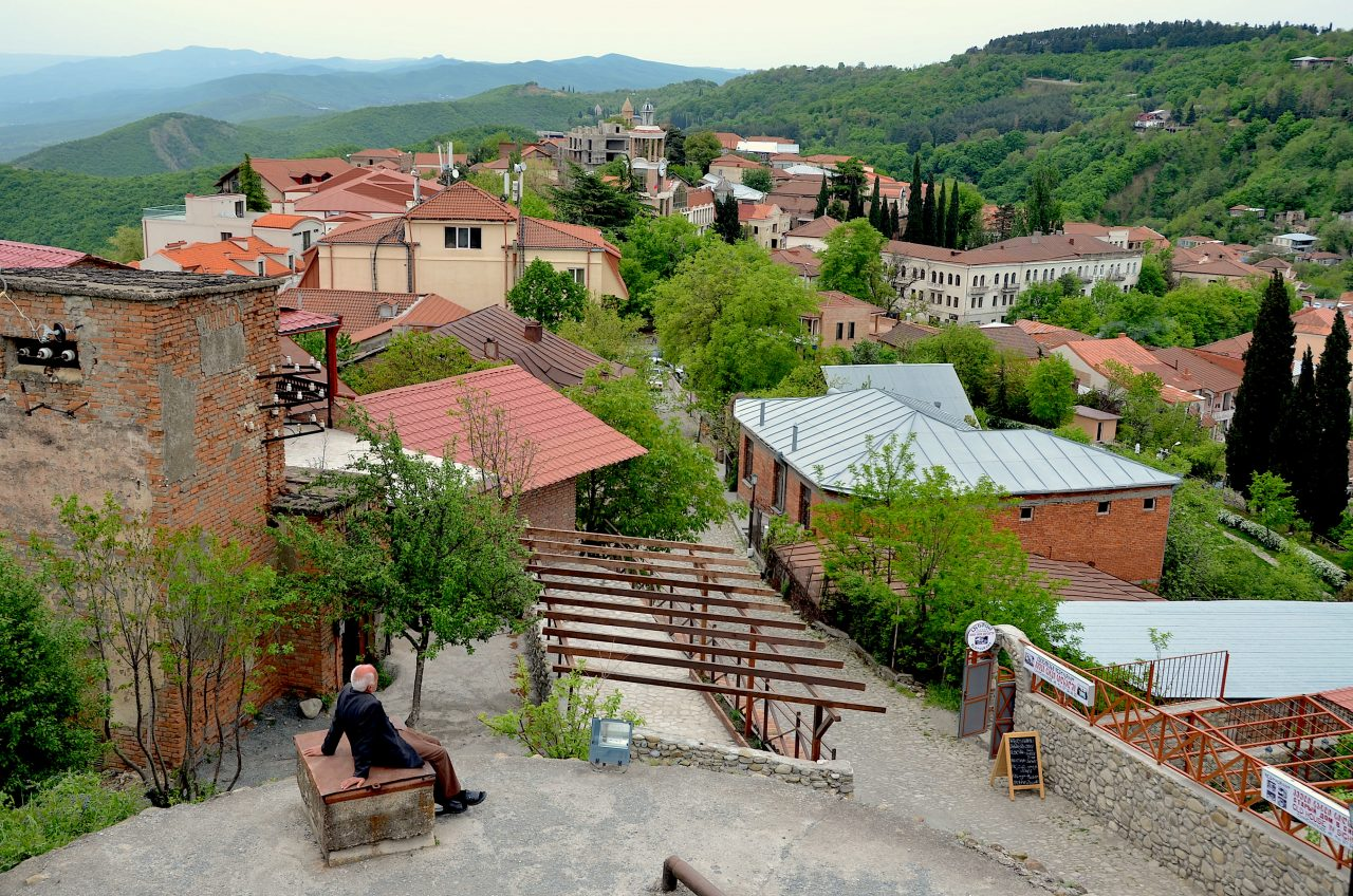 The town of Sighnaghi