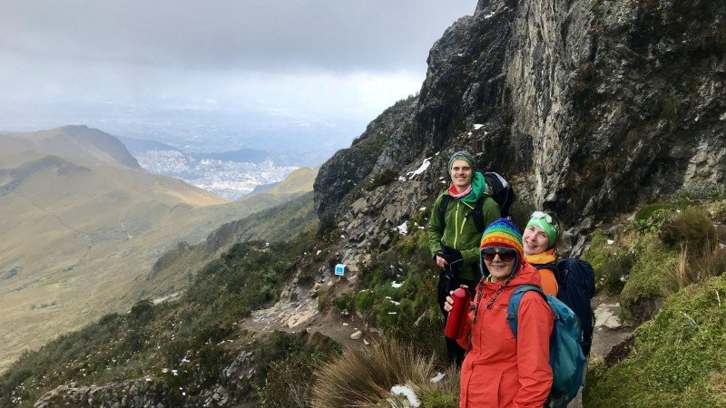 Hiking Ruco Pichincha in the heart of Quito